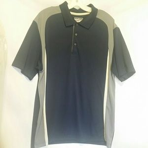 Grand Slam Navy/Grey Polo Shirt Size XL